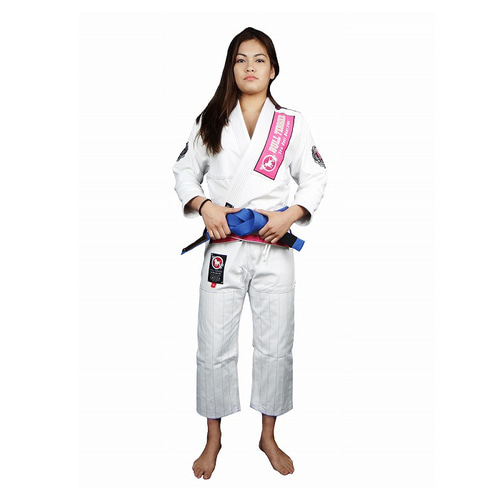 불테리어 주짓수 도복 - BULLTERRIER Jiu Jitsu Gi QUEEN WHITE