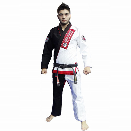 불테리어 주짓수 도복 - BULLTERRIER Jiu Jitsu Gi 15TH 50/50 White / Black