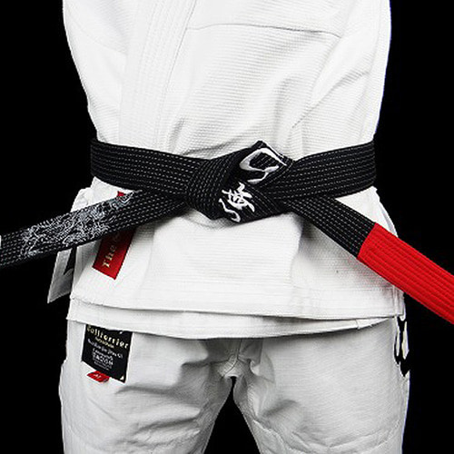 주짓수 벨트 - BULLTERRIER Jiu Jitsu Belt Mushin Black