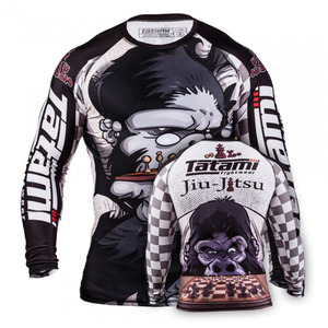 타타미 래쉬가드-CHESS GORILLA RASH GUARD