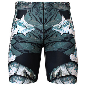 ANGEL KNIGHT [FY-317] Full graphic compression shorts