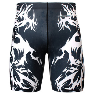 ASCENDING [FY-323] Full graphic compression shorts