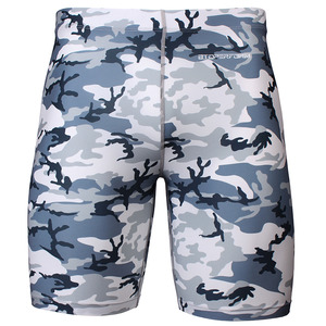 CAMO-URBAN [FY-311] Full graphic compression shorts