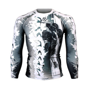ASSASSIN [FX-150] Full graphic compression long sleeve shirt