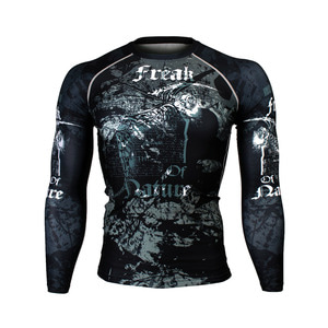 FREAK [FX-165] Full graphic compression long sleeve shirt