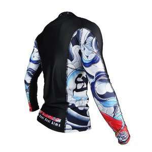 불테리어 래쉬가드 - BULLTERRIER Rash Guard ASHURA Long Sleeve Black