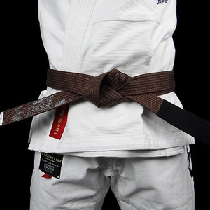 주짓수 벨트 - BULLTERRIER Jiu Jitsu Belt Mushin Brown
