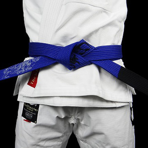 주짓수 벨트 - BULLTERRIER Jiu Jitsu Belt Mushin Blue
