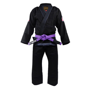 불테리어 주짓수 도복 - BULLTERRIER Jiu Jitsu Gi DENIM GI Ver.2 Black