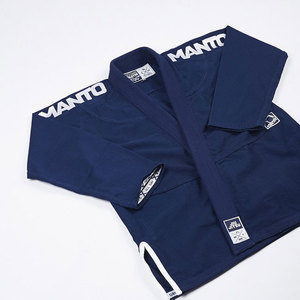 "만토 주짓수 도복 - MANTO ""X3"" BJJ GI Navy/White V2"
