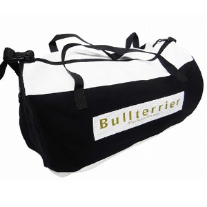 불테리어 주짓수 가방 - BULLTERRIER Duffle Bag White/Black