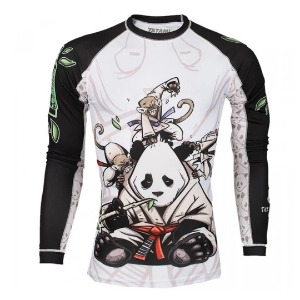 타타미 래쉬가드 - Gentle Panda Rash Guard