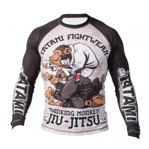 타타미 래쉬가드 - Thinker Monkey Rash Guard