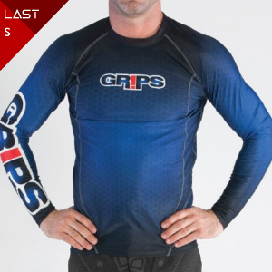 MEN'S WASP LONG RASHGUARD_BLUE